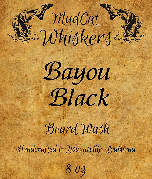 Bayou Black Beard Wash Combo