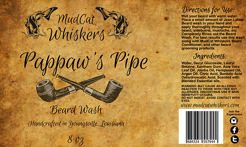 Pappaw's Pipe Beard Wash Combo