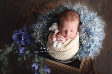 Photographe nouveau-né bébé Carcassonne