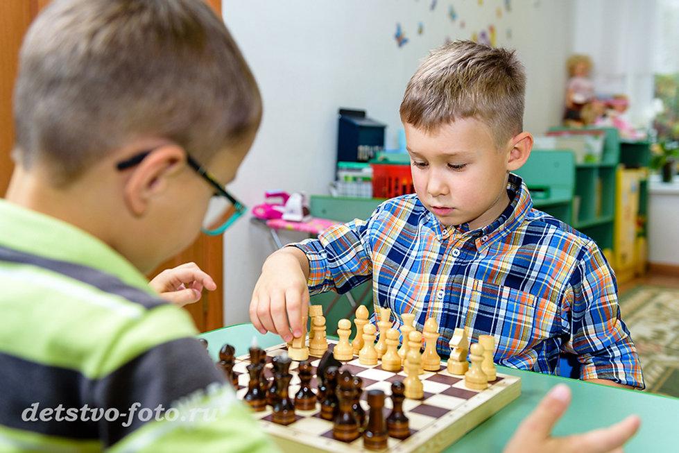 шахматы в детском саду