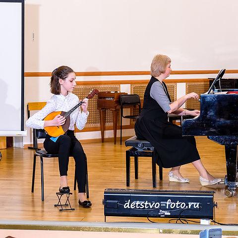 фотограф в музыкальную школу домра