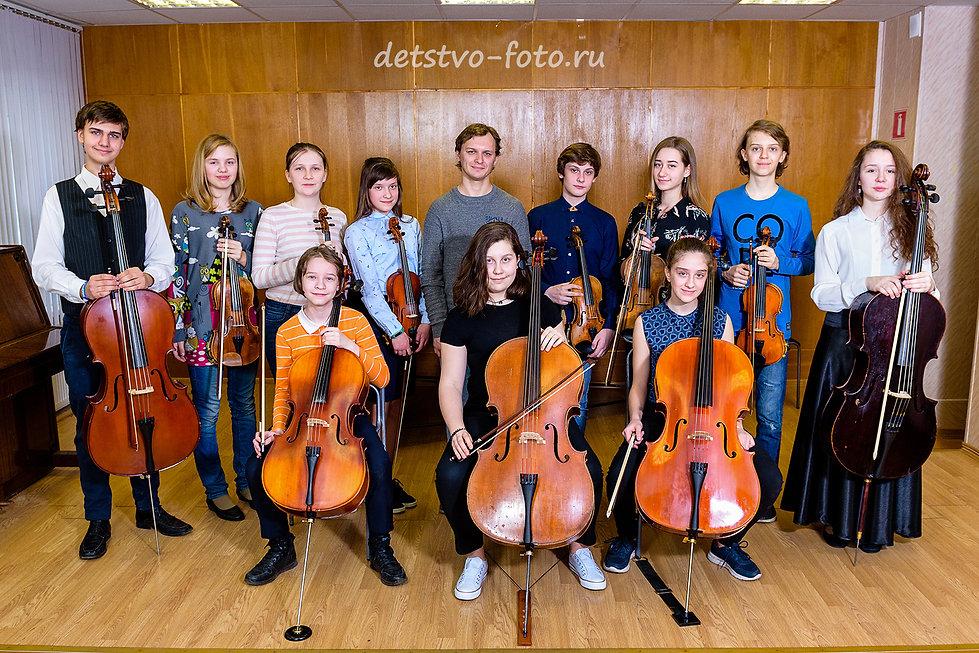 фотограф в музыкальную школу