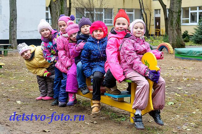 один день в детском саду москва