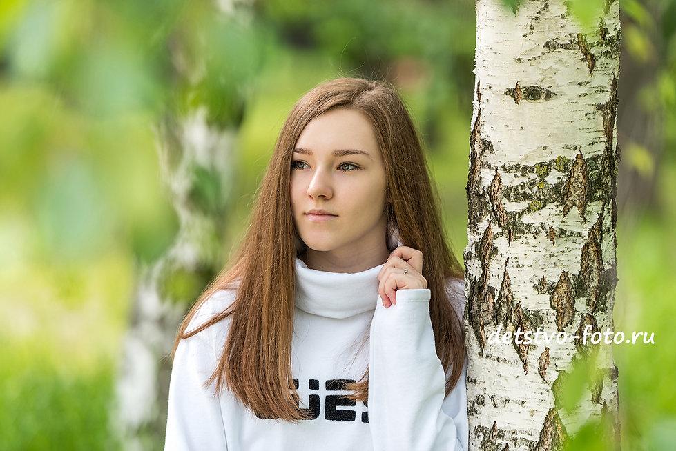 индивидуальная фотосессия в Москве. Портрет девушки