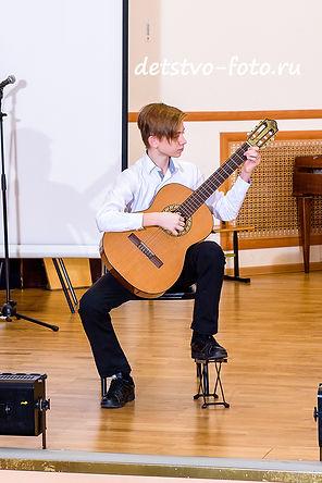 концерт в музыкальной школе гитара