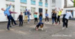 необычная фотосъёмка в школе