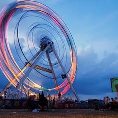Green wheel / Roskilde Festival