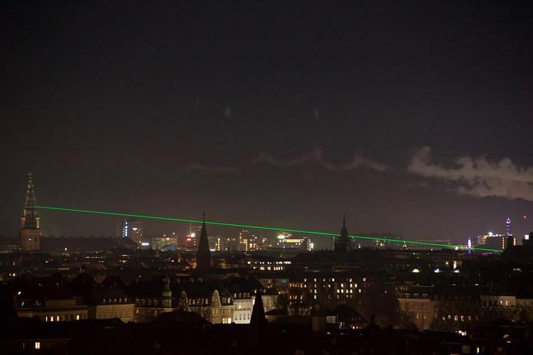 Grøn stråle / green beam