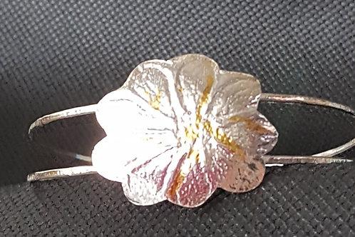 Oval Flower Bracelet