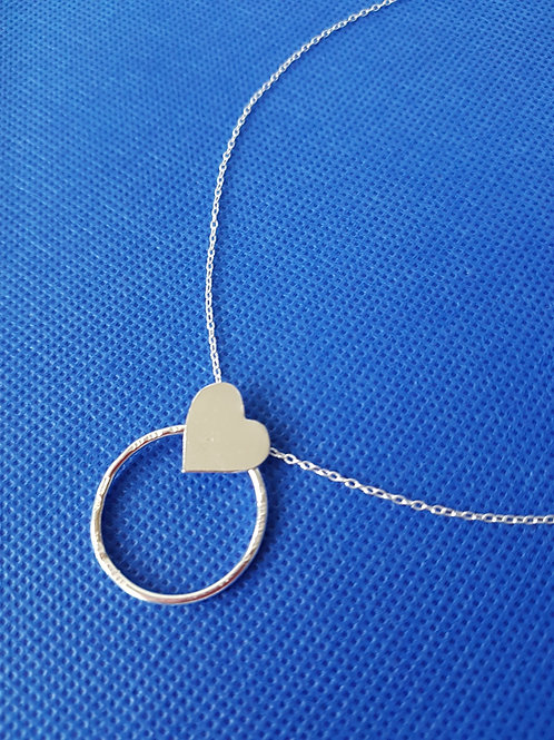 Heart on an Eternal Ring