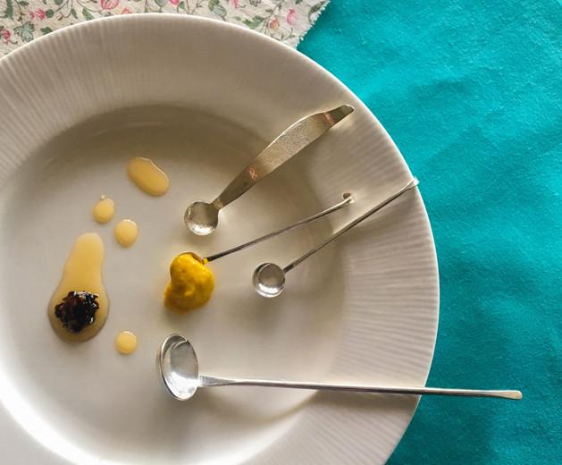 Flat Spice/Mustard Spoon