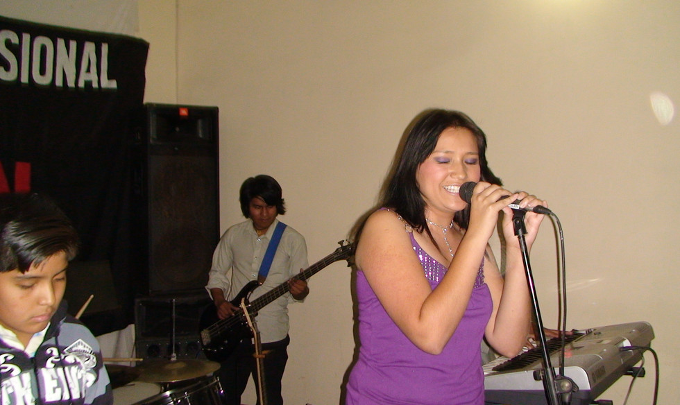 cantando en Bolivia