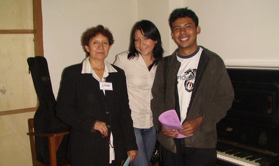 Personas que se dedican a la musica en bolivia