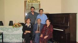 una familia de musicos