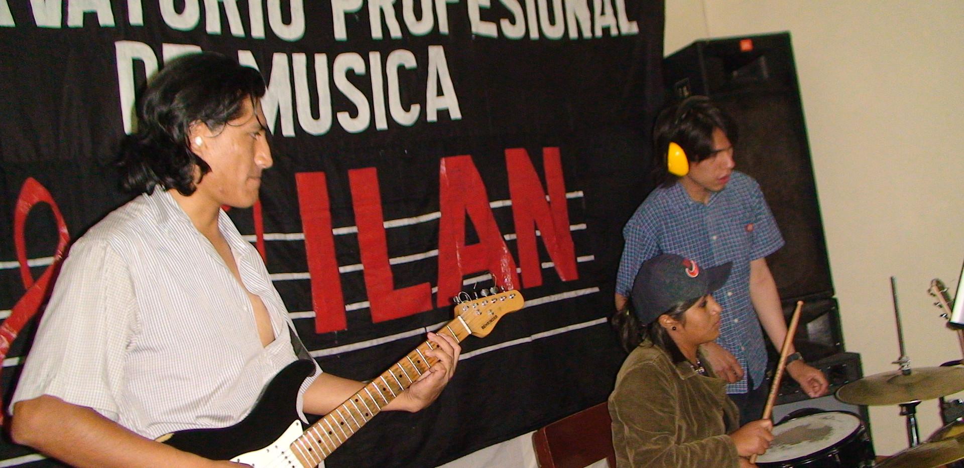 artistas del Conservatorio Milan