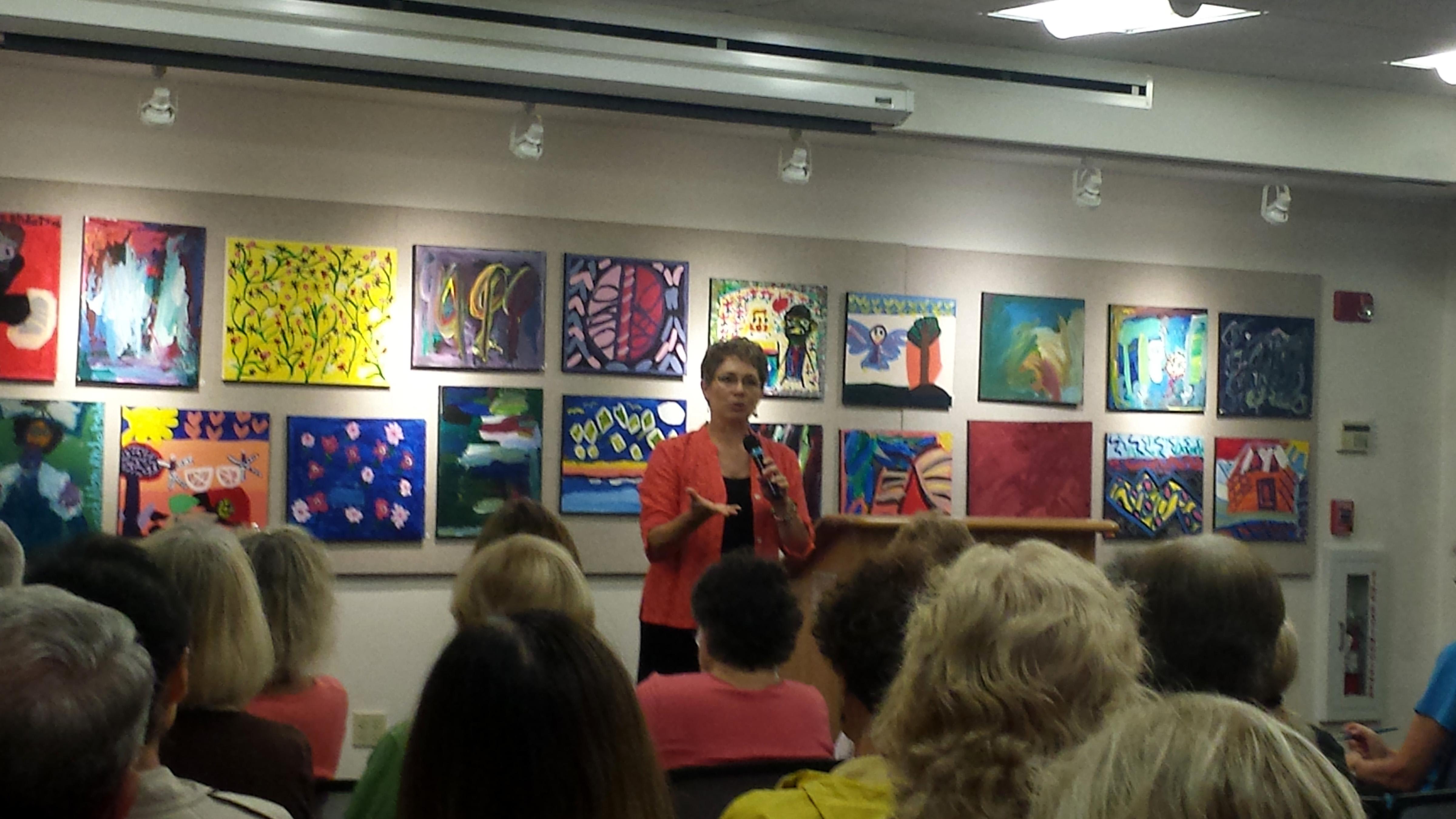 Sheri MIL at Guilford library