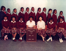 Date of Photograph: ca. 1984  R.D. Henton Academy room 307 class photo.  Physical Attributes: Color (2171 x 1683 px; 96 dpi)  Photo Credit: Courtesy of R.D. Henton Breakthrough Ministries.  R.D. Henton Academy | R.D. Henton Photo Library