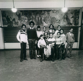 Date of Photograph: ca. 1982  Pastor R.D. Henton sitting with children at the R.D. Henton Academy in Chicago IL.  Physical Attributes: Black & White (3456 x 5184 px; 96 dpi)  Photo Credit: Courtesy of R.D. Henton Breakthrough Ministries.  R.D. Henton Academy | R.D. Henton Photo Library