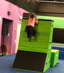 Graylyn climbs.JPG