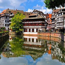 Alsace, Strasbourg, Colmar