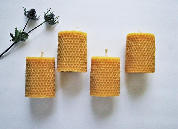 Rolled Honeycomb Pillar