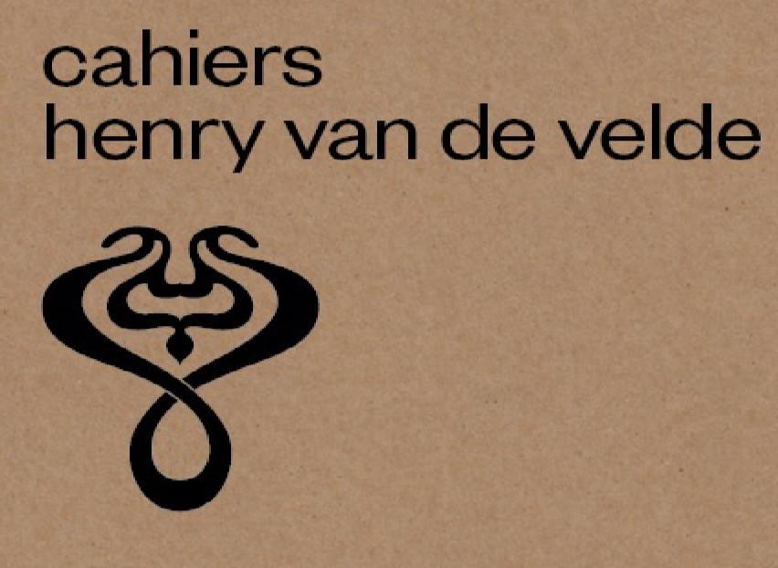 Cahier Henry van de Velde - now available!
