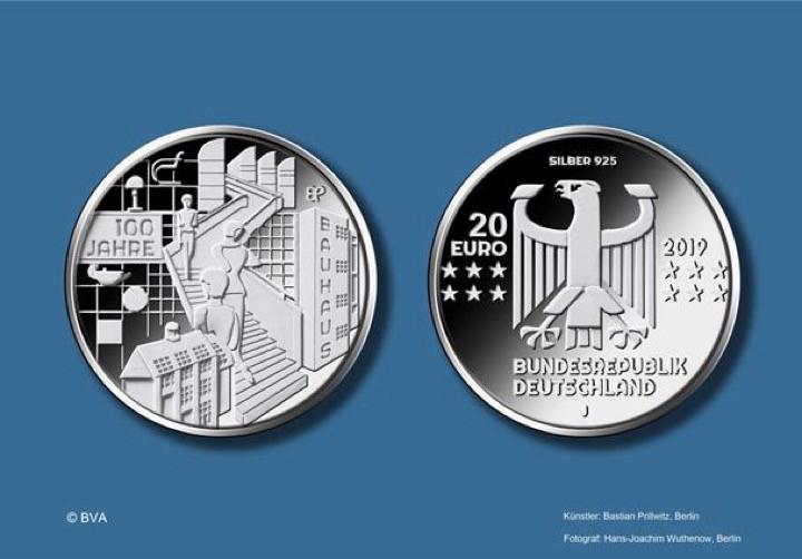 Bauhaus Jubilee Coin - 2019