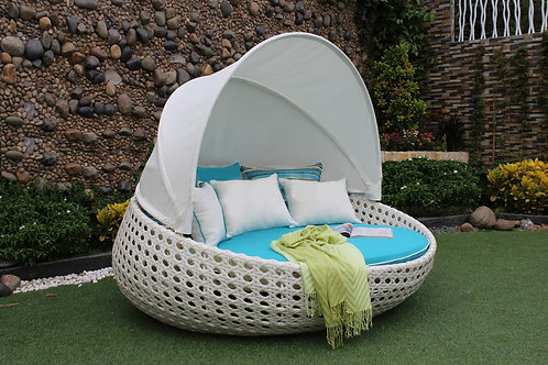 Cool White Daybed