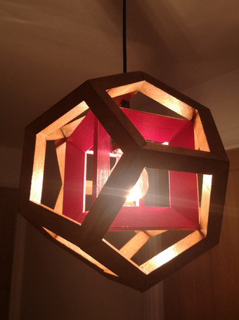 Aether 4D pendant red