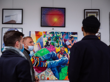What Is Art? Boomer Gallery exhibition opening night