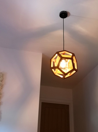 Aether 4D pendant yellow