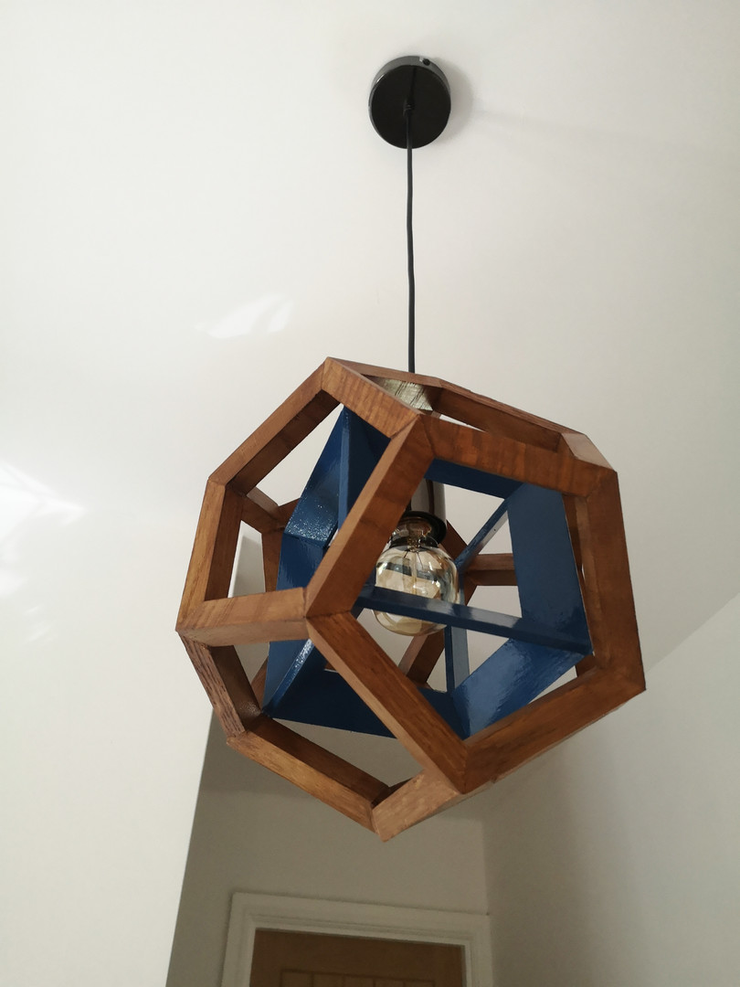 Aether 4D pendant blue