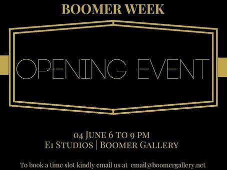 Boomer Week! 4th - 10th June, London