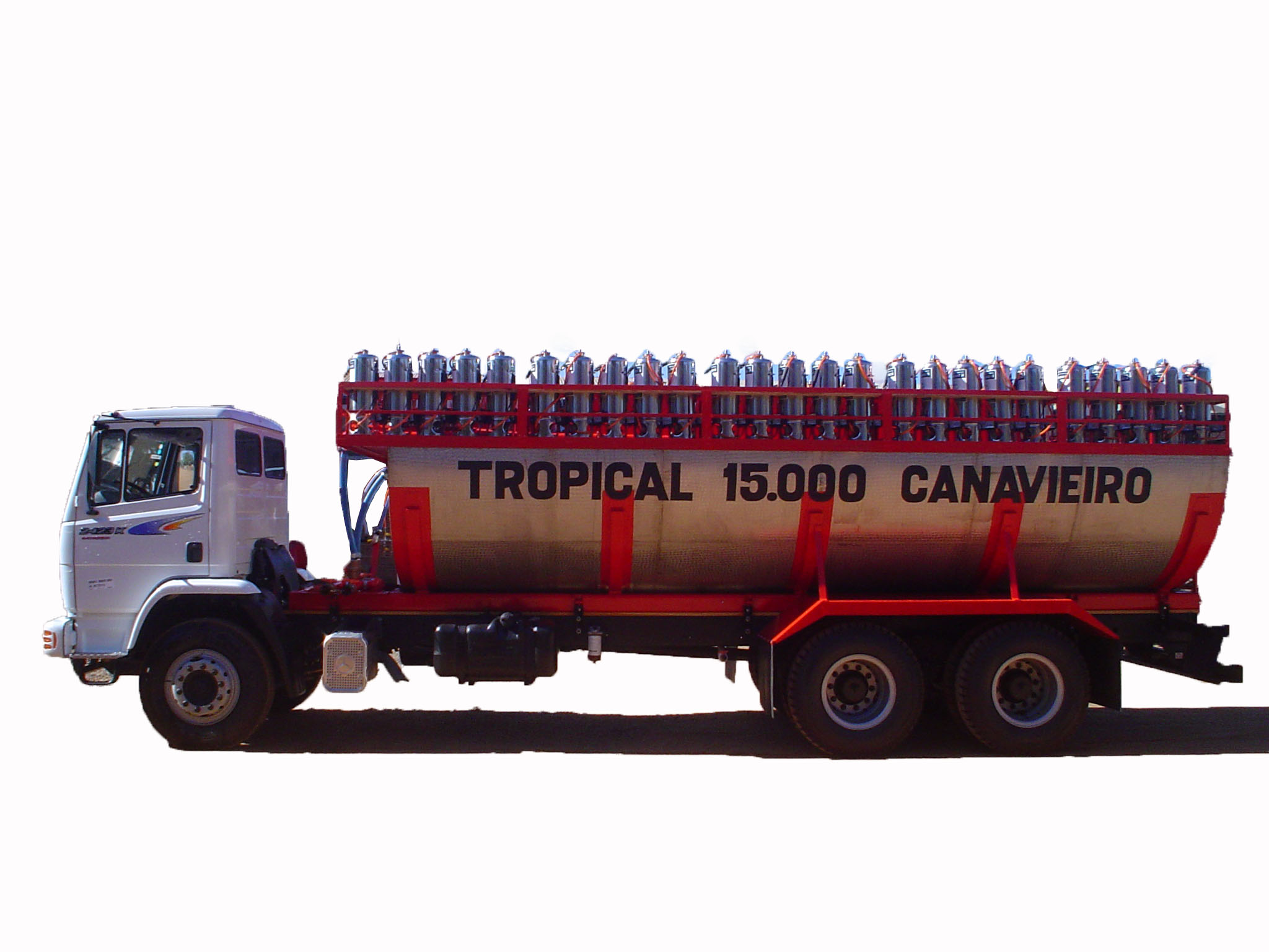 Conjunto de Pulverização Tropical