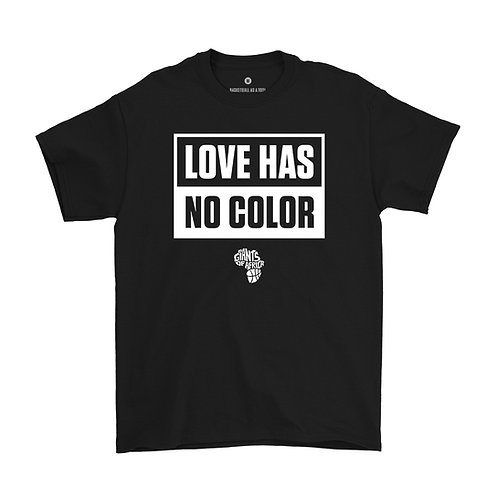 Love Has No Color T-Shirt (Black)