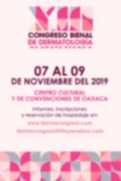 CARTEL_CONGRESO_BIENAL_DERMATOLOGIA_OAXA