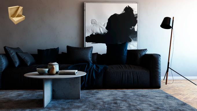 Interior de apartamento tipo