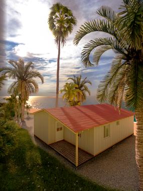 Diseño de Cabaña Isla de Providencia