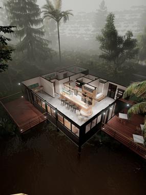 Diseño de Fachada Hotel