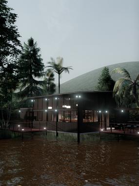 D.Diseño de Fachada Hotel