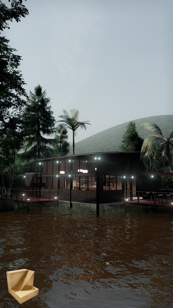 Diseño de Gam Pling para Hotel Cafetero