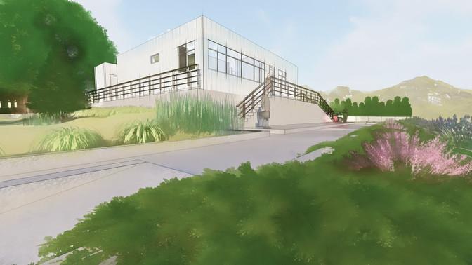 Diseño de oficinas de peaje Alto de Patios