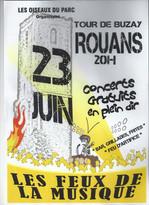 Affiche Feux de la Musique 2012