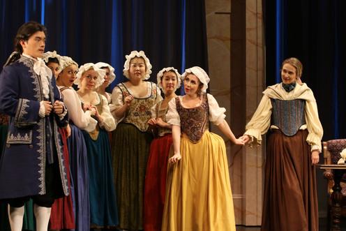 """BARBARINA in Mozart's """"Le nozze di Figaro"""""""