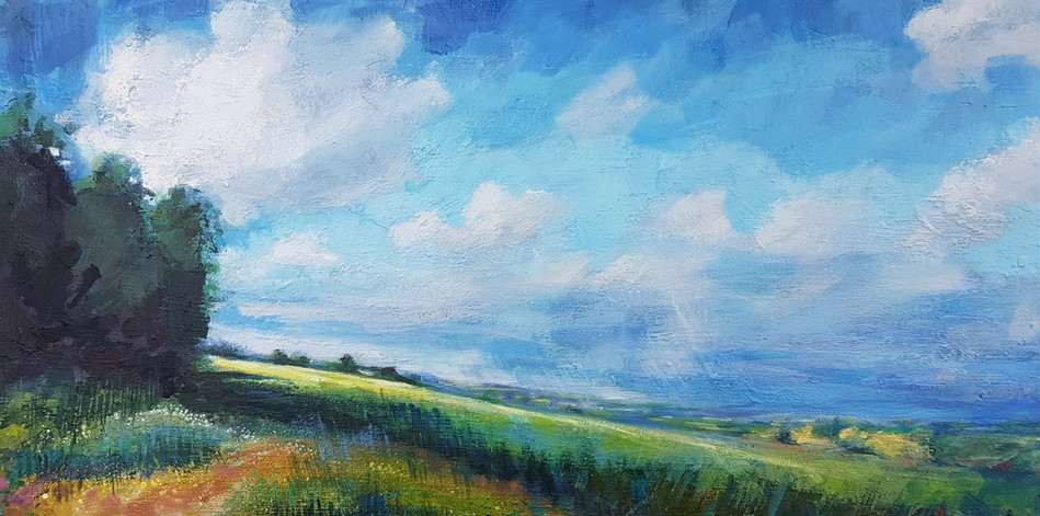 Blue Skies, Cotswolds