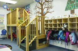 PreK Library Loft