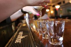 shots bartender