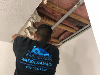 South  San Francisco Wet ceiling water damage