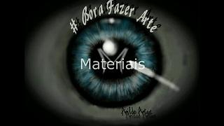 Materiais para desenhos realistas - tutorial