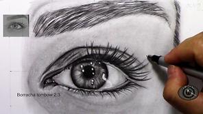 Aprenda como fazer um olho realista